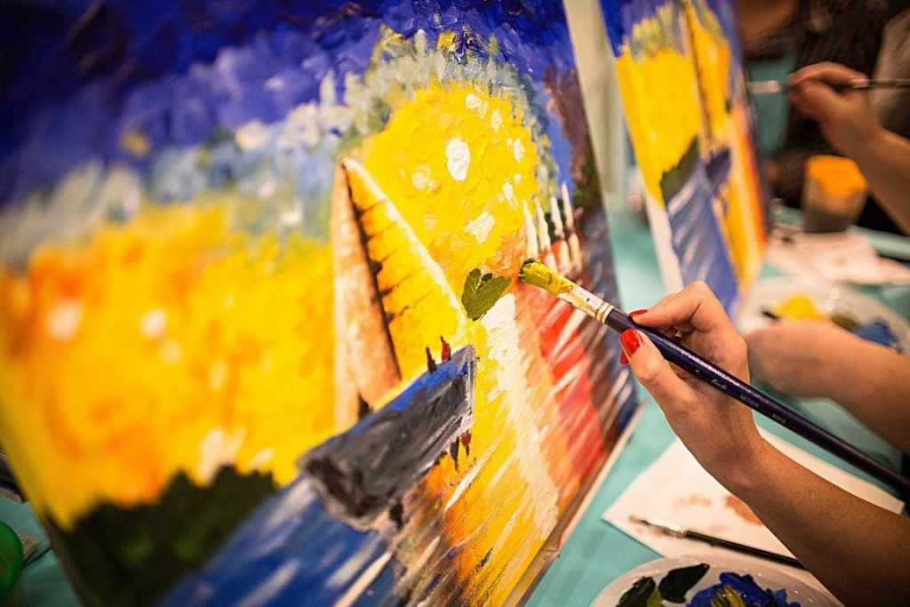 Мастер-класс по рисованию (живописи)