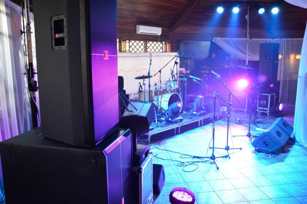 Звуковое и световое сопровождение мероприятия